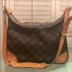 Vintage Louis Vuitton Boulogne Shoulder Bag